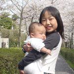 桜咲く頃 記念写真