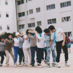 チーム桜ヶ丘(平成13年玉川学区運動会)