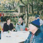 中央公園で町内会イベント(平成14年1月)