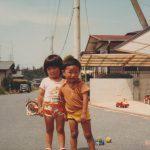 昭和の頃の子どもたち(昭和56年初夏)
